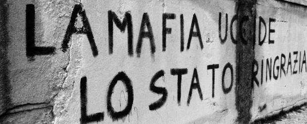 Pintada contra la Mafia en Sicilia